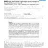 BibGlimpse: The case for a light-weight reprint manager in distributed literature research
