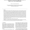 Bidirectional Texture Function Compression Based on Multi-Level Vector Quantization