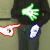 Binocular Hand Tracking and Reconstruction Based on 2D Shape Matching
