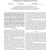 Bioinspired Environmental Coordination in Spatial Computing Systems