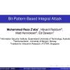 Bit-Pattern Based Integral Attack
