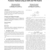 Black-box optimization benchmarking for noiseless function testbed using an EDA and PSO hybrid