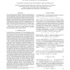 Blind Monte Carlo detection-estimation method for optical coherence tomography