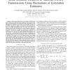 Blind Multiuser Detection in Multirate CDMA Transmissions Using Fluctuations of Correlation Estimators
