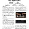 Blind Recognition of Text Input on Mobile Devices via Natural Language Processing