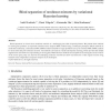 Blind separation of nonlinear mixtures by variational Bayesian learning