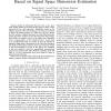 Blind Spectrum Sensing for Cognitive Radio Based on Signal Space Dimension Estimation