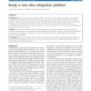 Booly: a new data integration platform