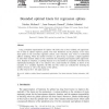 Bounded optimal knots for regression splines