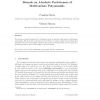 Bounds on absolute positiveness of multivariate polynomials