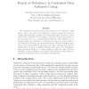Bounds on Redundancy in Constrained Delay Arithmetic Coding