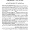 Bounds on the Gain of Network Coding and Broadcasting in Wireless Networks