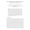 Brain Morphometry by Distance Measurement in a Non-Euclidean, Curvilinear Space