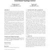 Brief announcement: minimum spanning trees and cone-based topology control