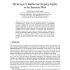 Brokerage of Intellectual Property Rights in the Semantic Web