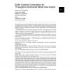 Buffer capacity computation for throughput-constrained modal task graphs