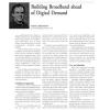 Building Broadband Ahead of Digital Demand