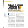 Business-to-Business E-Commerce Frameworks