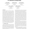 C-ODO: an OWL Meta-model for Collaborative Ontology Design