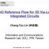 CAD reference flow for 3D via-last integrated circuits