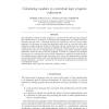 Calculating modules in contextual logic program refinement