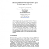 Calculating Optimal Decision Using Meta-level Agents for Multi-Agents in Networks