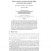Camera Motion Estimation Through Planar Deformation Determination
