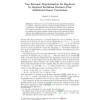 Can Entropic Regularization Be Replaced by Squared Euclidean Distance Plus Additional Linear Constraints