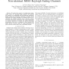 Capacity Analysis and Power Allocation over Non-Identical MISO Rayleigh Fading Channels