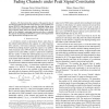 Capacity of Underspread Noncoherent WSSUS Fading Channels under Peak Signal Constraints