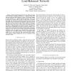 Capacity Provisioning a Valiant Load-Balanced Network
