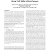Capturing truthiness: mining truth tables in binary datasets
