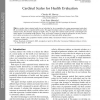 Cardinal Scales for Health Evaluation