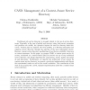 CASD: Management of a context-aware service directory