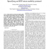 Case study on the use of SDL for specifying an IETF micro mobility protocol