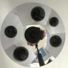 Catadioptric Camera Calibration Using Geometric Invariants