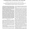 Challenges and implications of using ultrasonic communications in intra-body area networks
