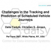 Challenges in the Tracking and Prediction of Scheduled-Vehicle Journeys
