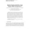 Channel Capacity Limitations versus Hardware Implementation for UWB Impulse Radio Communications