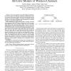 Chaotic Maps as Parsimonious Bit Error Models of Wireless Channels