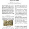 Characterization of the ORBIT Indoor Testbed Radio Environment