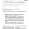 Chromosomal clustering of a human transcriptome reveals regulatory background