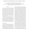 Classification-Based Likelihood Functions for Bayesian Tracking