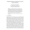 Classification Based on Combination of Kernel Density Estimators