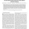 Classification of Protein-Protein Interaction Full-Text Documents Using Text and Citation Network Features