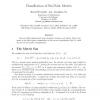 Classification of Six-Point Metrics