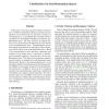 Classification via semi-Riemannian spaces