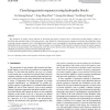 Classifying protein sequences using hydropathy blocks