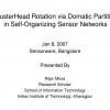 ClusterHead Rotation via Domatic Partition in Self-Organizing Sensor Networks