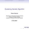 Clustering Genetic Algorithm